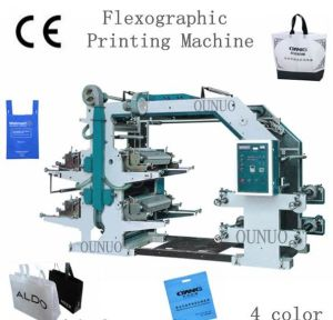 Yt-41200 Flexographic Non Woven Fabric Printing Machine pictures & photos