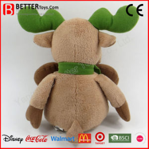 New Year Christmas Plush Toy Stuffed Reindeer pictures & photos