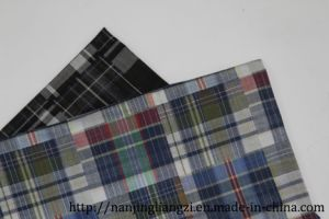 Cotton Yarn Dyed Joint Double Layer Check Fabric pictures & photos