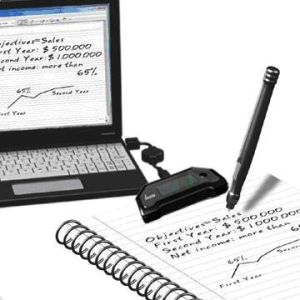 Mobile Note Taker Digital Pen