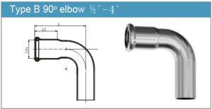Type B 90 Degree Elbow