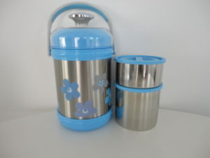 1800ml Stainless Steel Lunch Box With Handle (XR1800-1)
