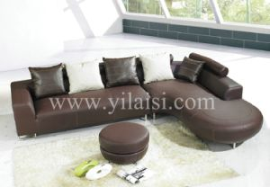 Corner Leather Sofa (935)