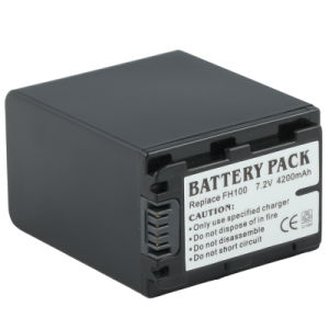 Digital Camera Battery (FH100 7.2V 4200mAh) for Sony Camcorder