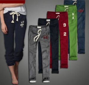High Waist Long Pants Men Casual Trousers Cotton pictures & photos