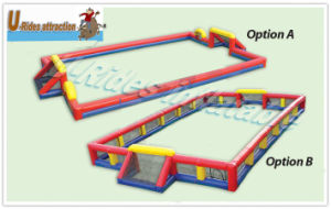 Inflatable Soccer Arena with Net pictures & photos