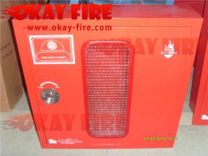 """1""""X30m Fire Hose Reel Steel Cabinet"""