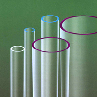 UV Stop Quartz Glass Tube