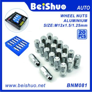 20 PCS Colored Aluminum Racing Wheel Nut Set pictures & photos