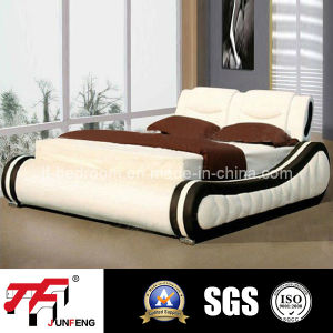 Europe Style Leather Bed J-17
