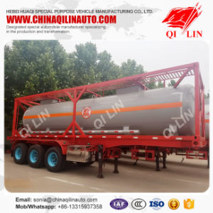 35000liters 30FT Tanker Trailer with Container Locks pictures & photos
