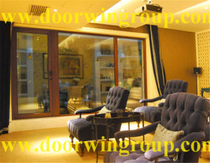 Excellent Wood Aluminum Casement Windows Made by Chinese Manufacturer pictures & photos