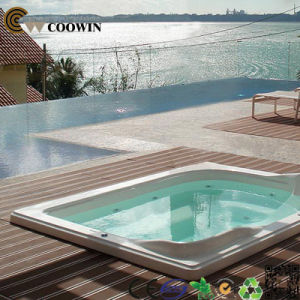 Anti-UV Outdoor Waterproof Swim Pool WPC Flooring Covering pictures & photos