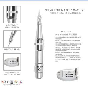 Digital Digital Tattoo Permanent Makeup Machine with Control Panel pictures & photos