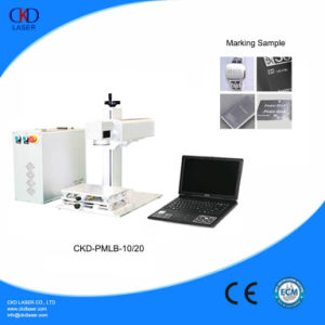 Portable Fiber Laser Marking Machinery for Jewellery and Plate pictures & photos