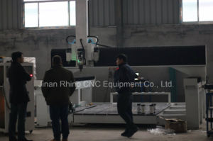 Rhino 2017 New Technology Spindle Tilting 4 Axis Atc CNC Router Rskm25-H pictures & photos