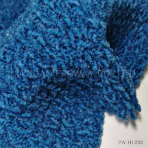 Bi-Colored Chenille Yarn with Soft Handfeel in 100% Polyester pictures & photos