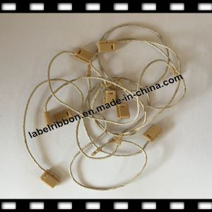 Plastic/Without Logo/Garment Cotton-Flax String Seal Hang Tag (ST002) pictures & photos