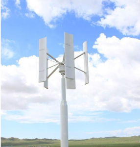 China Cheap Home Wind Turbine 600W Vertical Axis Wind Turbine Wind Solar Hybrid Charge Controller pictures & photos