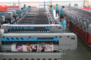 Outdoor Media Vinyl Banner Printing Machine pictures & photos