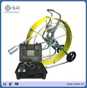 """8"""" LCD Color Monitor Waterproof IP68 Real Time Video Pipe Inspection Camera pictures & photos"""