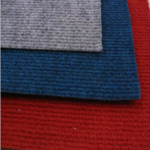 Anti Pilling Surface Needle Punched Ribbed Carpet pictures & photos