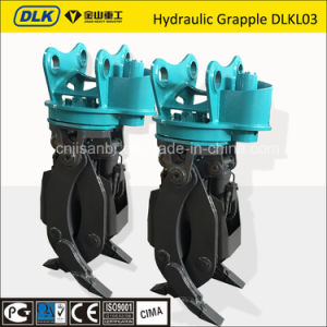 Rotating Grapple for 4-6tons of Machinery pictures & photos