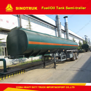 2 Axle Fuel/Oil Tanker Semi-Trailer for Sale pictures & photos