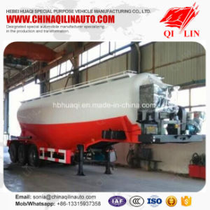 High Quality Tank Semi Trailer for Granular Alkali Loading pictures & photos