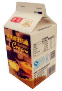 450g Gable Top Box/Carton for Milk/ Juice/Cream/Wine/Yoghurt/Water pictures & photos