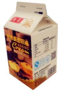 450g Gable Top Carton for Baking Cream pictures & photos
