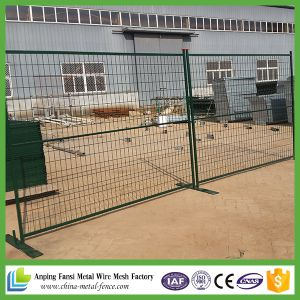 canada standard cheap price temporary metal fence panels