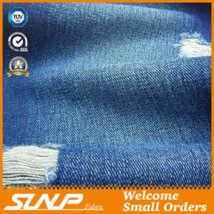 Fashion Cotton Twill Denim Fabric for Jean/Jacket