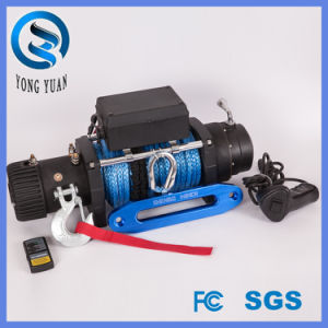 FCC Approved 9500lbs Electric Winch Synthetic Rope Waterproof/ 4X4 off-Road 9500lbs Winch (DH9500F-S) pictures & photos