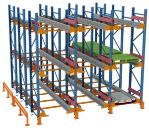 Radio Shuttle Cart Racking System pictures & photos