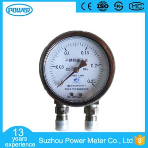 100mm All Stainless Steel High Quality Differential Pressure Gauge pictures & photos