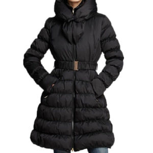 Pillow Collar Puffer Down Coat pictures & photos