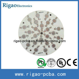 Round Aluminum Plate PCB for LED Lamp pictures & photos