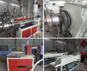 PE Spiral Pipe Production Extrusion Machine Line pictures & photos