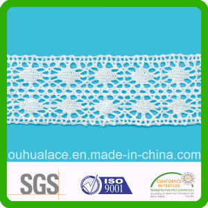 100% Cotton Made in China Garment Accessories Cotton Lace