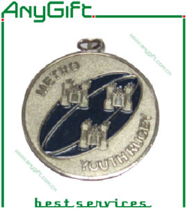 Zinc Alloy Die Casting 3D Medal with Antique Brass Plating pictures & photos