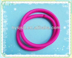 Wholesale Rubber Elastic Metal Free Hair Band pictures & photos