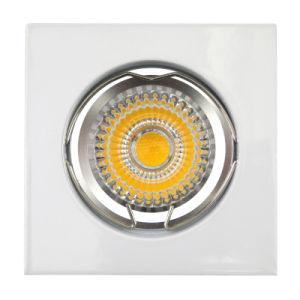 Die Cast Aluminum GU10 MR16 Square Fixed Recessed White LED Light (LT1001) pictures & photos
