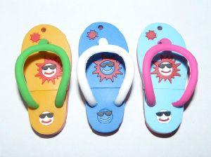 Beach Shoes Cartoon USB Flash Memory 1GB 2GB 4GB 8GB 16GB pictures & photos