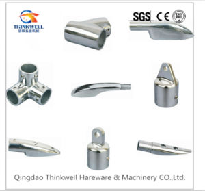 Stainless Steel Marine Hardware Mirror Polished Handrail Bracket pictures & photos