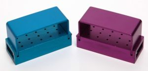 Exposed Type 15 Holes Bur Disinfection Box (B004A)