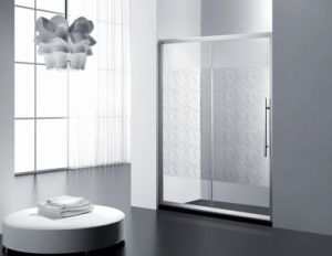 Tempered Glass Simple Shower Door \ Shower Cabin\ Shower Room pictures & photos