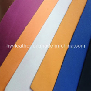 Embossed Leather for Shoes (HW-953) pictures & photos
