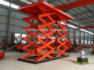 Heavy Load Scissor Platform Lift for Cargo pictures & photos