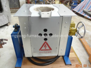 Small Induction Furnace for Copper (GW-30KG) pictures & photos